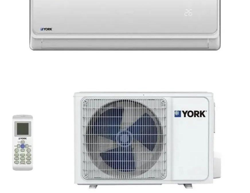 MiniSplit York HighWall Frío y Calor 18,000 Btu´s